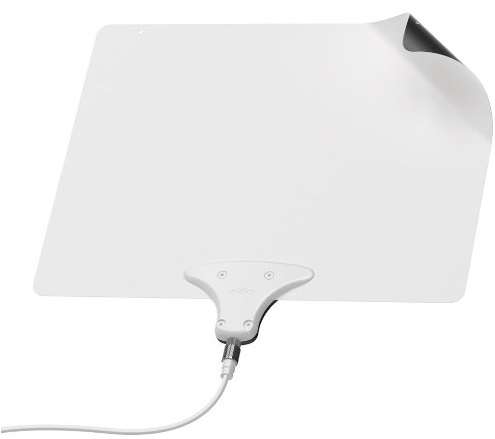 Mohu Leaf 30 Indoor HDTV Antenna, 40 Mile Range, Original Paper-thin, Reversible, Paintable, 4K-Ready, 10 Foot Detachable Cable, Premium Materials for Performance, USA Made, MH