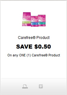 Carefree Product coupon