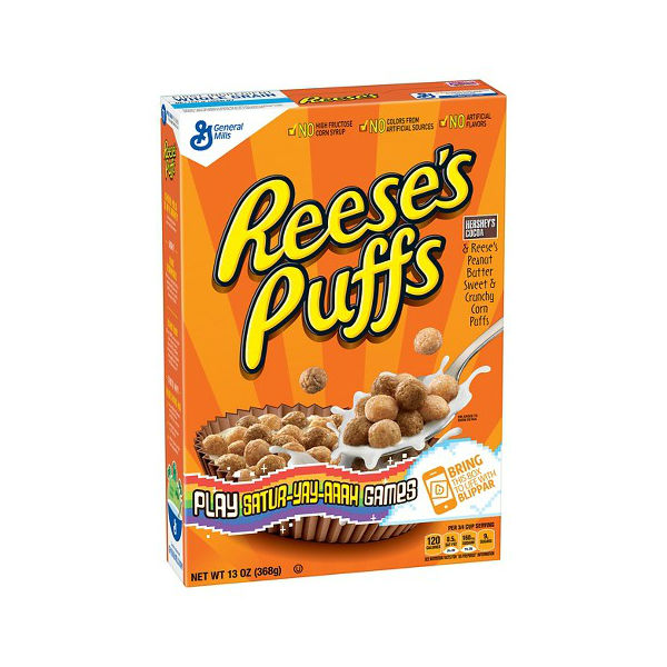 Reeses-Puffs-Cereal Cereal Reese's Puffs SOLO $1.13 en Walgreens