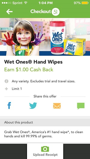 Wet Ones - Checkout51