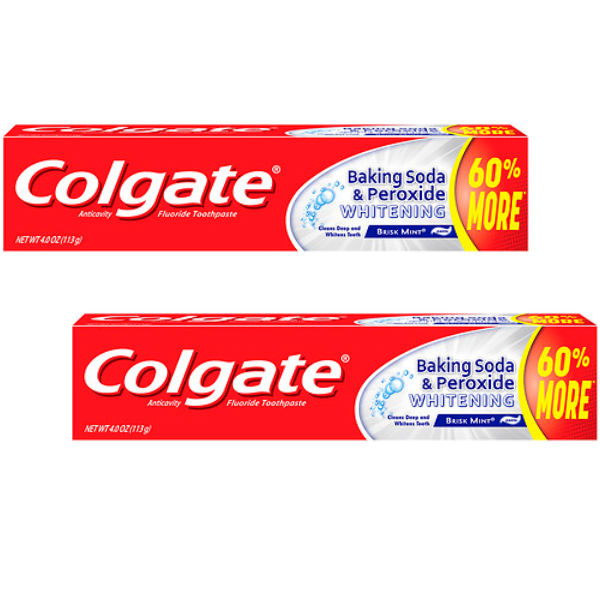 Colgate Baking Soda and Peroxide Whitening