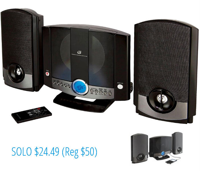 GPX 1-CD Home Music System