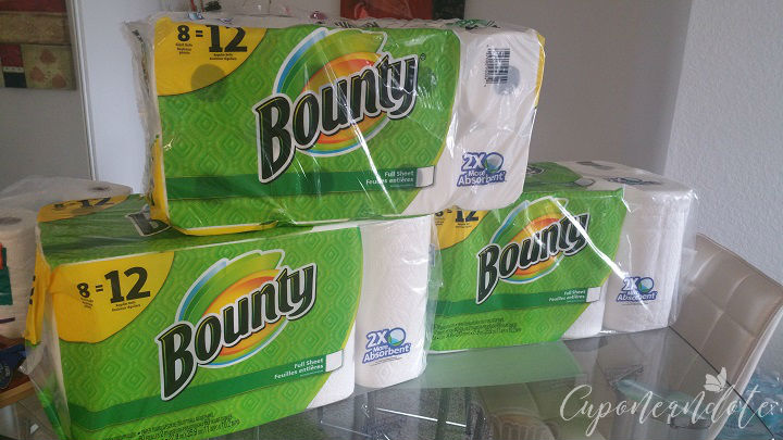 Bounty Paper Towels de 8 ct