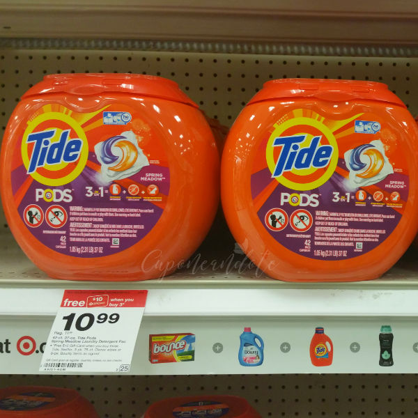 Tide Pods de 42 ct