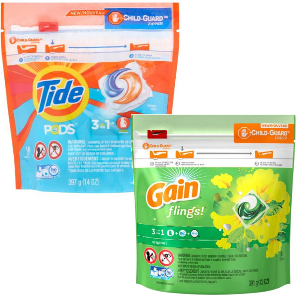Tide Pods o Gain Flings