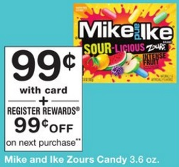 Dulces Mike and Ike Zours - Walgreens 6_25
