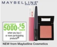Maybelline Walgreens offer 6-25-17