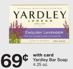 Yardley London en Walgreens 8-13-17