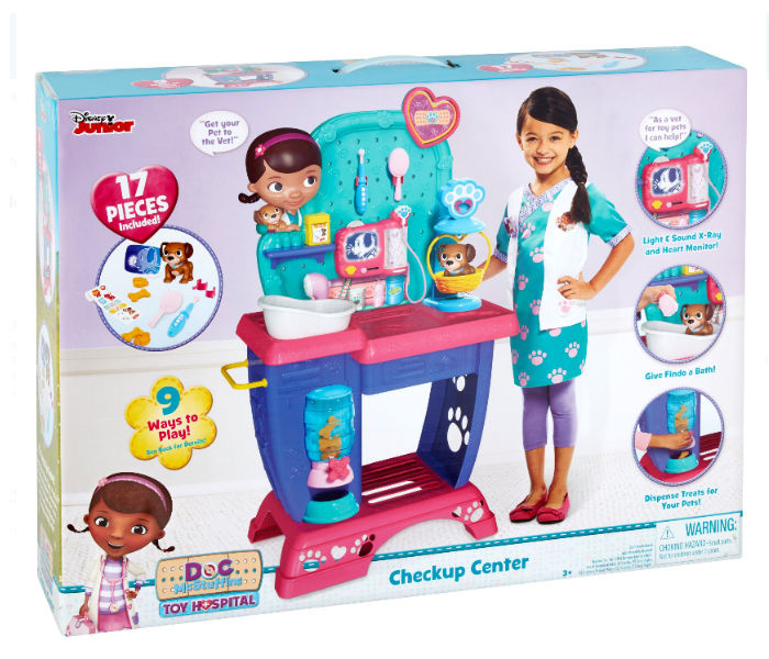 Disney Junior Doc McStuffins Toy Hospital Checkup Center