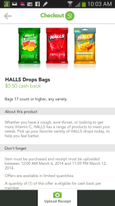 Halls Offers