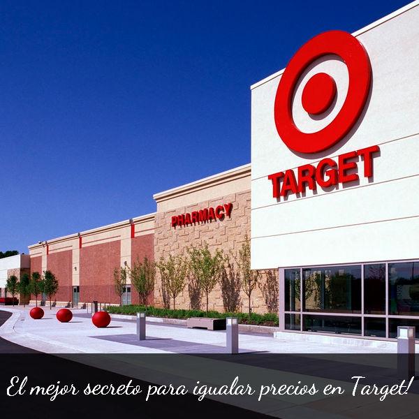El mejor secreto para igualar precios en Target