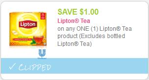 Cupon de Lipton