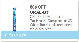 cupon de Oral B