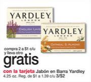 Oferta de Jabon Yardley