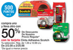 oferta de Scotch Tape