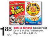 Cereal Post