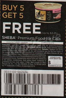 cupon comida de gato