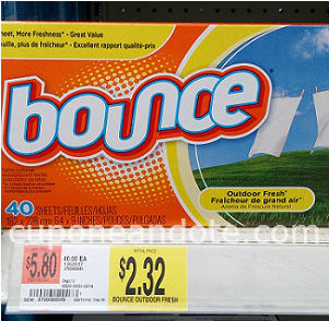 Foto Bounce Dryer Sheets
