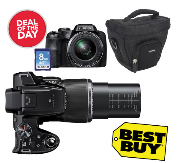 Ahorra $250 en una Fujifilm Digital Camera en Best Buy