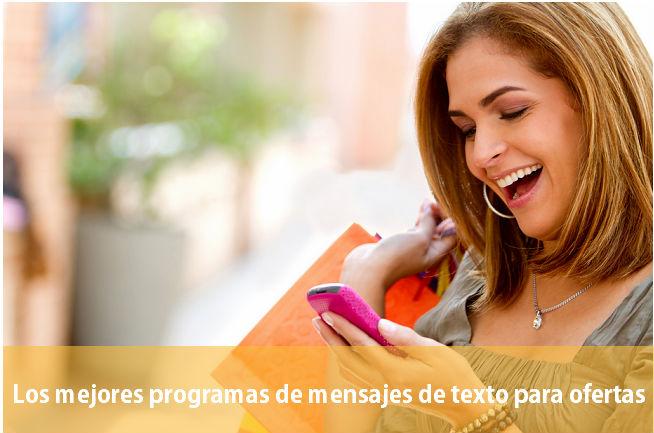 Mensajes-de-Texto Los mejores programas de mensajes de Texto para ofertas