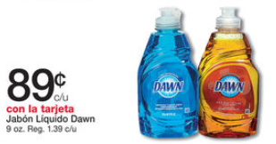 shopper Dawn Dish Liquid
