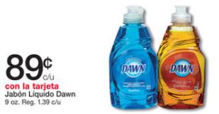 shopper Dawn Dish Liquid
