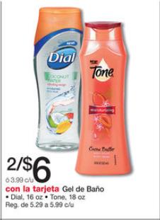 shopper Dial o Tone Body Wash