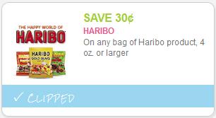 cupon Haribo Gummi Bears