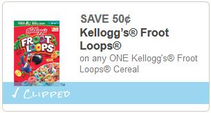 cupon Froot Loops