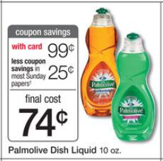 shopper Palmolive Dish Soap
