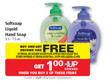 shopper Softsoap
