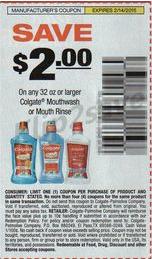 Colgate coupon