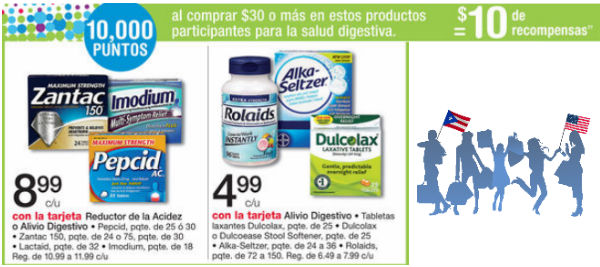 shopper Zantac y Alka Seltzer