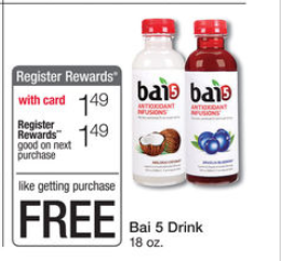shopper Bai 5 Drink