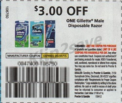 cupon Gillette Good News Disposable Razors