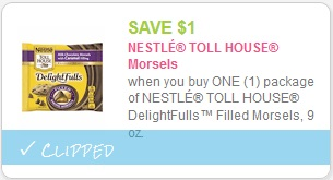 cupon Nestle Toll House Morsels