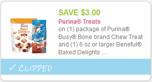 cupon Purina Treats