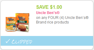 cupon uncle bens