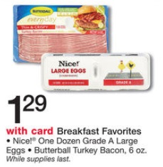 shopper butterball turkey bacon