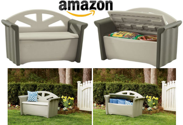 Today Only Save Up To 63 Off On Rubbermaid Storage Bench At Amazon