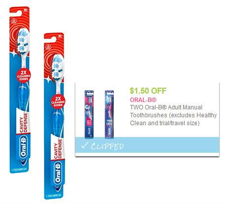 Oral B Cavity Defense Toothbrush A Solo 0 75 En Walmart