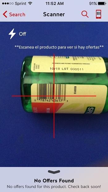 Escanea Producto