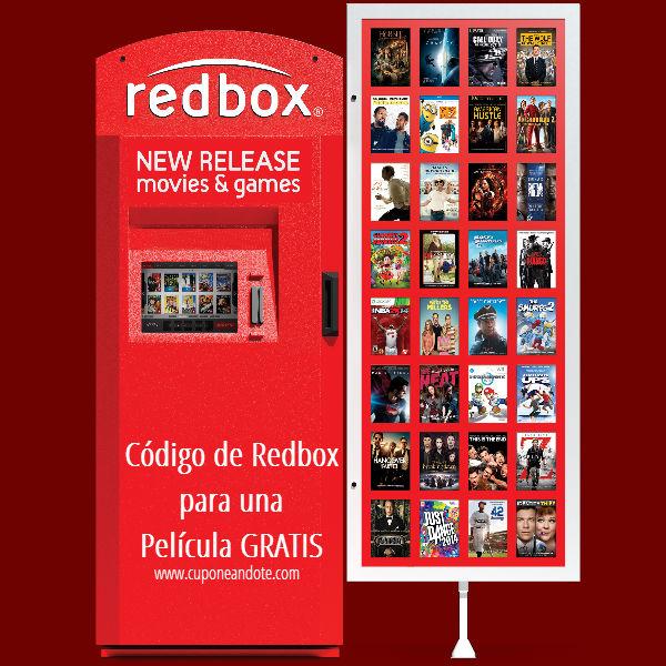 Código Para Una Película GRATIS en RedBox