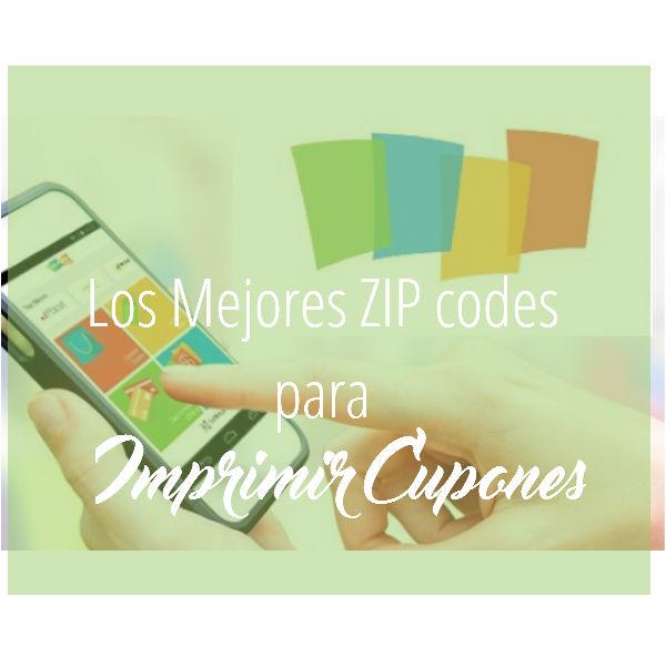 Los Mejores Zip Codes para Imprimir Cupones