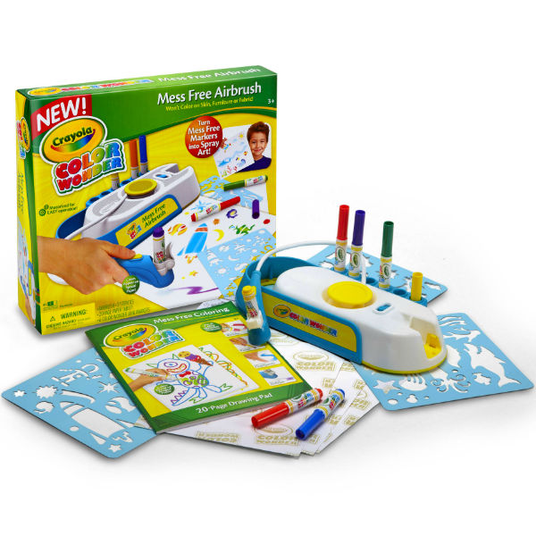 Walmart Online: Crayola Color Wonder Mess-Free Airbrush Kit SOLO ...