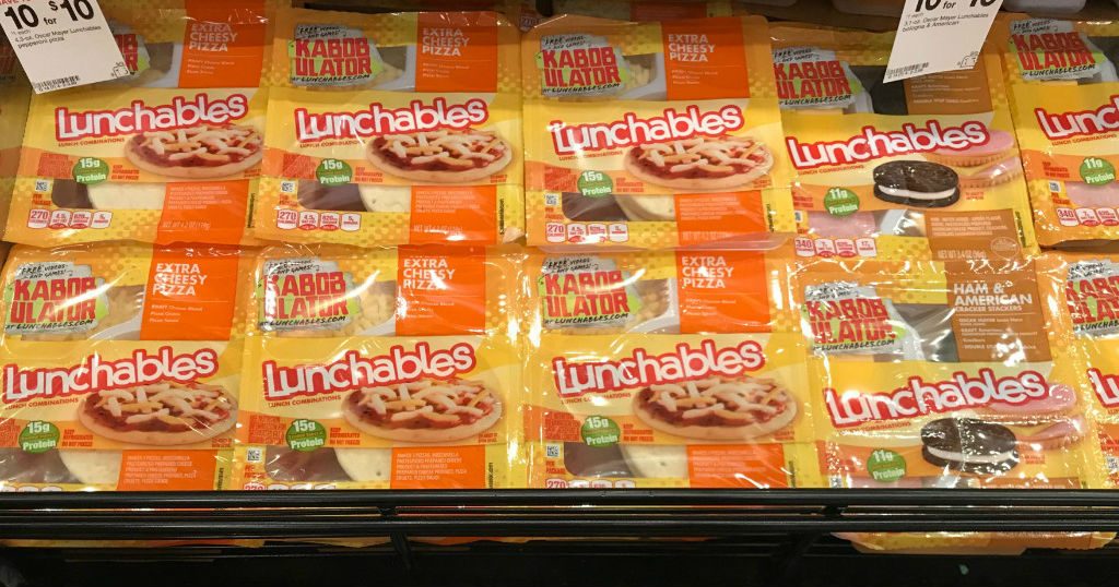 Oscar Mayer Lunchables a solo $1.00 en Target