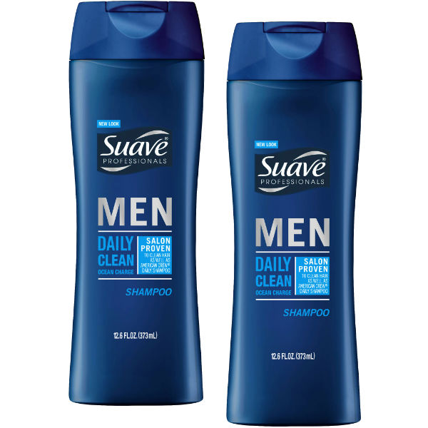 Suave Men Daily Clean Shampoo