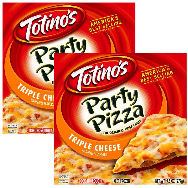 Totinos Cheese Party Pizza a $0.75 en Walmart