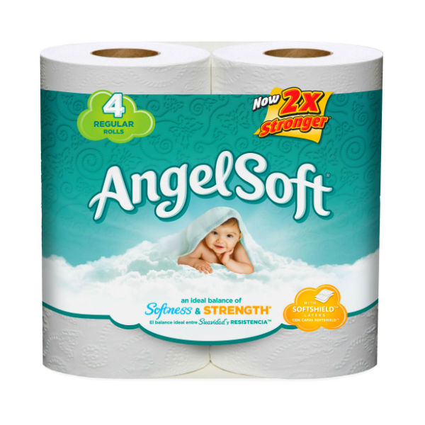Angel Soft de 4 ct