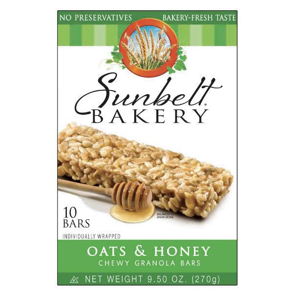 Sunbelt Bakery Chewy Granola Bars